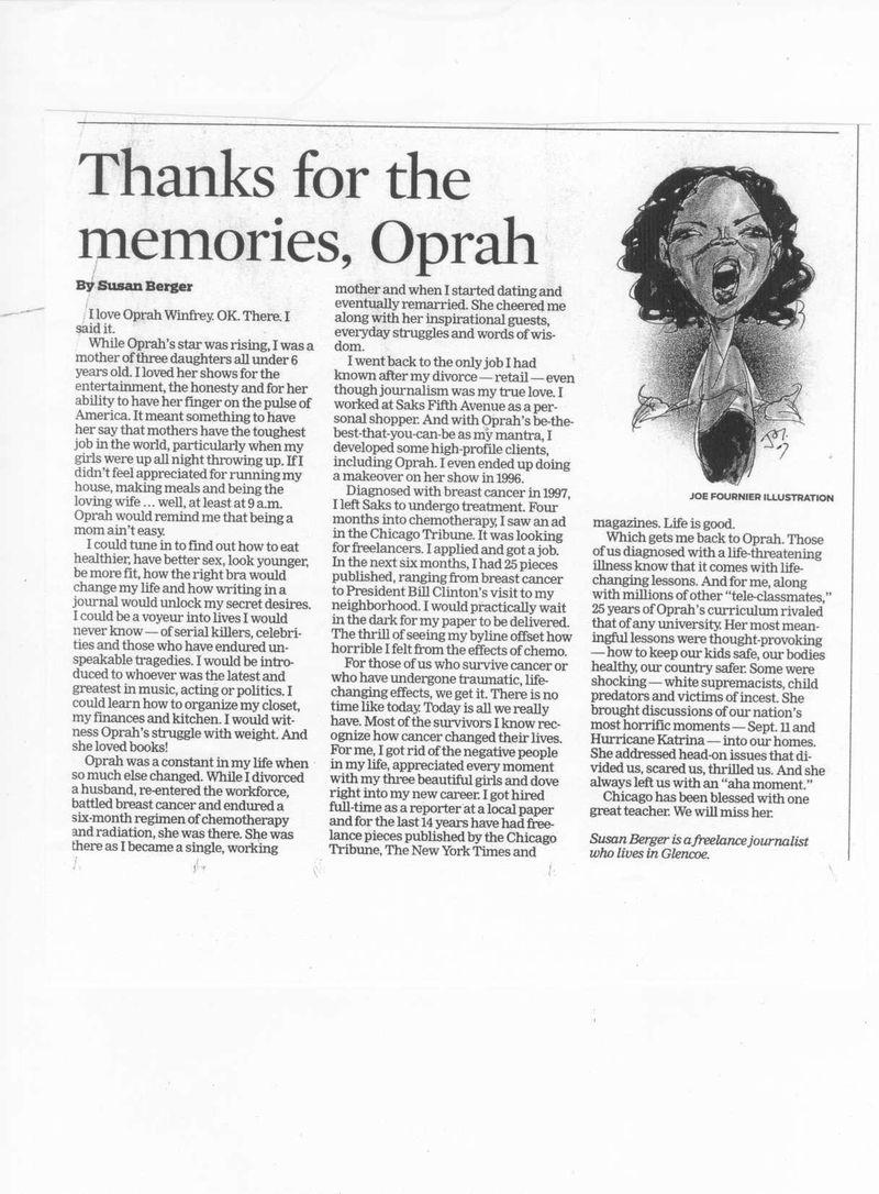 Oprah oped