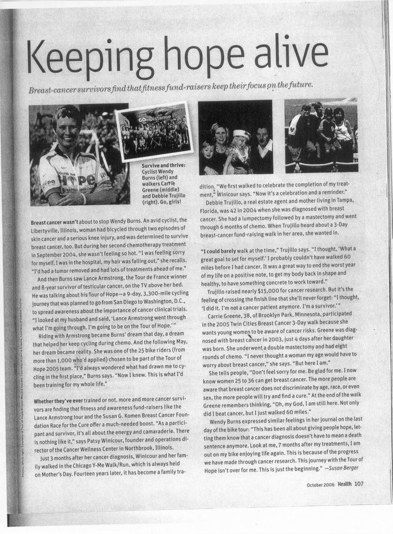 Health mag story