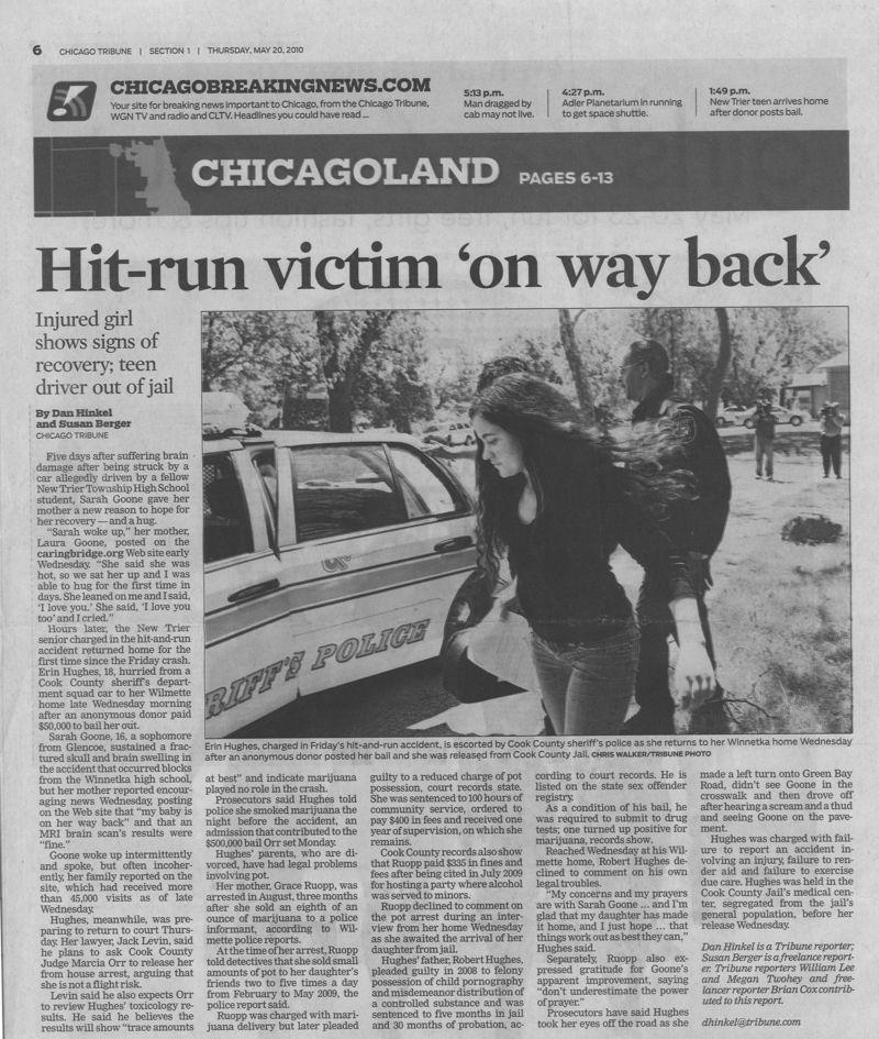 Hit run victim