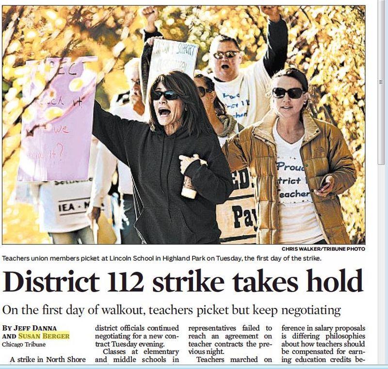 District 112 takes hold
